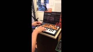 Doorbell simulation on Arturia Microbrute @ Hit Space