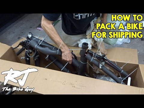 How To Pack A Bike For Shipping In A Cardboard Box