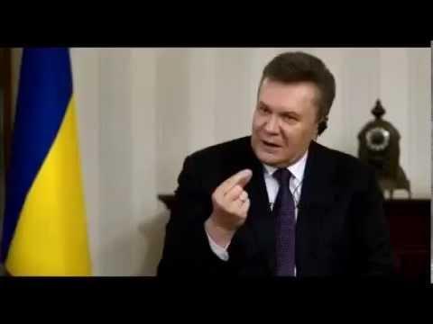 BUILD-UP TO WW3 - Yanukovych  Says He Wants to Persuade Putin to Give Crimea Back to the Ukraine
