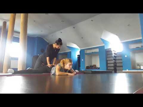Растяжка с любимым тренером ) Stretching time - enjoy every moment !
