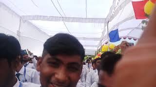 Hanswahini fresher's funtion Song sang by Aakash Pandey Bhaiya