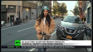 E-Scooters: A Dangerous Craze?