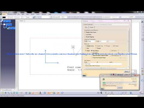 catia-v5-drafting|adding-geometric-tolerance-to-drawing-views|total-runout|beginner's-tutorials