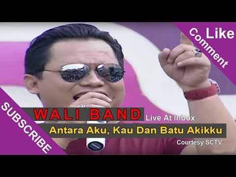 Cover Lagu Wali Band Antara Aku, Kau Dan Batu Akikku Live At Inbox 04-03-2015 Courtesy Sctv