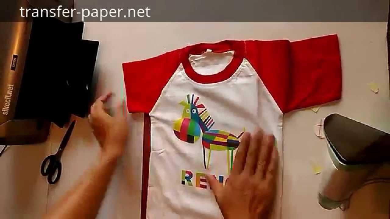 Kertas Sablon Kaos Youtube Transfer Paper