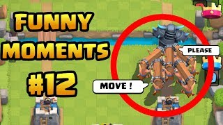 CLASH ROYALE | Funny Moments, Fails, Glitches, and Epic Wins #12