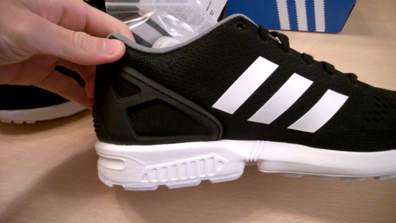 przytulnie świeże jakość najwyższa jakość Unboxing butów/ shoes Adidas ZX Flux B34510