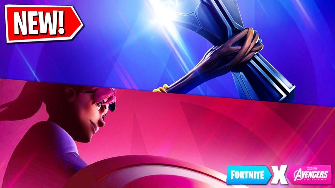 fortnite x avengers endgame event new skins gamemode new avengers teaser 2 - fortnite x endgame teaser 2
