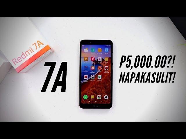 Xiaomi Redmi 7A: Maliit Pero Maaasahan!