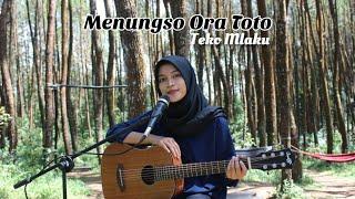 MENUNGSO ORA TOTO - TEKOMLAKU || versi Akustik by AFACOVER