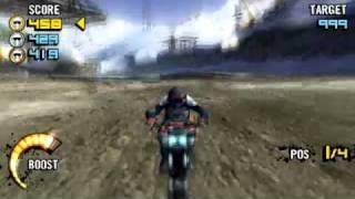 Motorstorm Arctic Edge PSP Gameplay