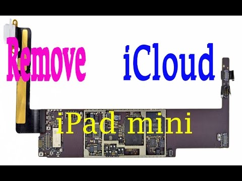 Update | Bypass iCloud iPad Mini | Full Detail and Schematic by Mob Apples