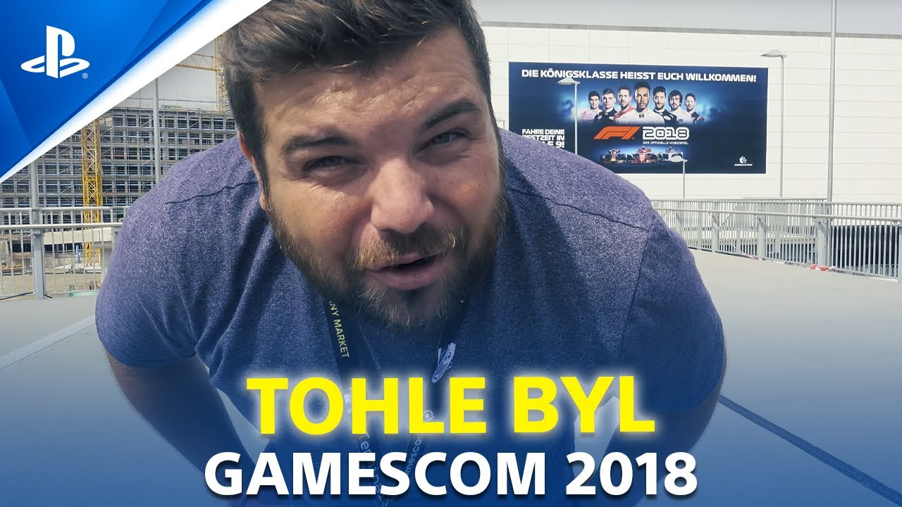 TOHLE byl GAMESCOM 2018 | PlayStation Play