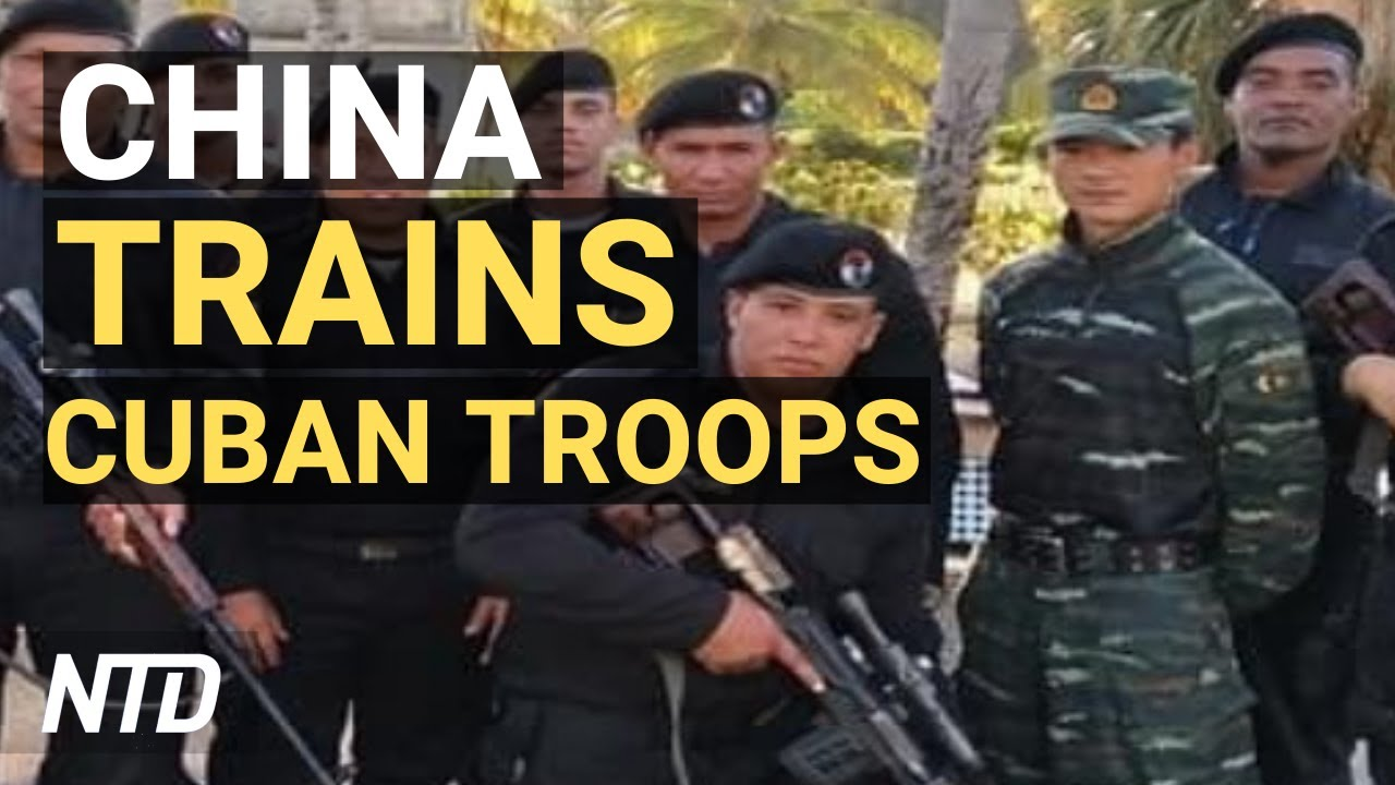 Exclusive: Chinese Military Trains Cuba's Black Berets; CDC Document Leaked: 'The War Has Changed'