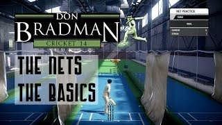 Don Bradman Cricket 14 Nets: The Basics