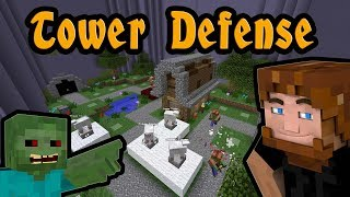 Minecraft Tower Defense Level 1  - Custom Mobs, Models, Sounds,Textures & Much More
