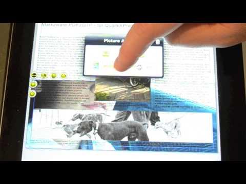 Quark DesignPad v1.5 - iPad app Layout