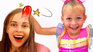 The Boo Boo Song with parents | Kids Song by Maya and Mary