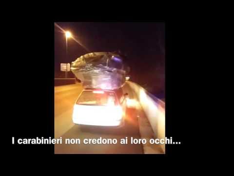 I carabinieri pizzicano un carico esplosivo