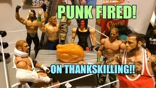 GTS WRESTLING: THANKSKILLING! WWE Wrestling Figure Matches Animation! Mattel Elites PPV EVENT!