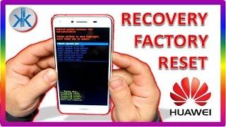 👍✔ Huawei Y5II CUN-L01 , Recovery & Factory reset , hard reset, Como formatear de fabrica
