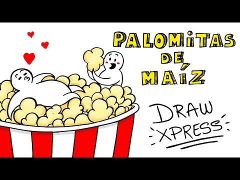Download Youtube: PALOMITAS DE MAÍZ 🍿  DrawXpress