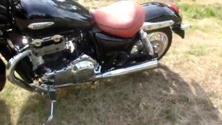 Triumph Thunderbird 1600 Dave Platts exhaust