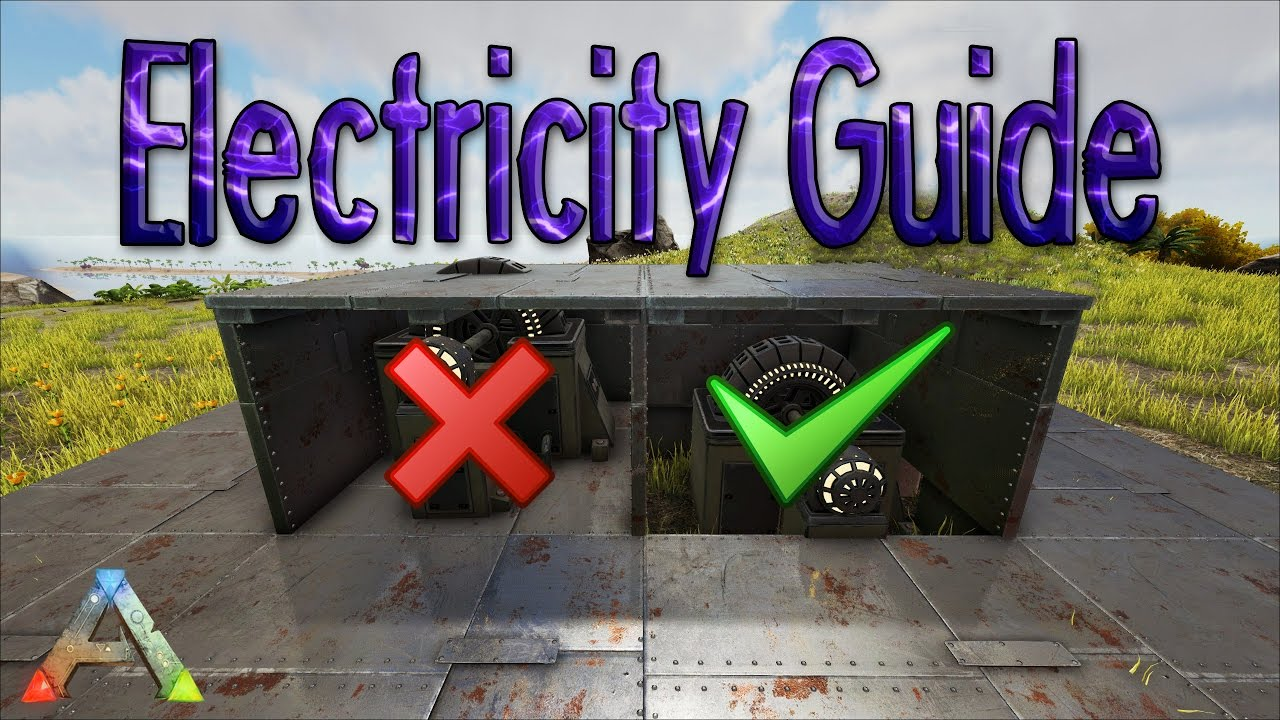 Ark How To Protect Your Generator And Cables Turret