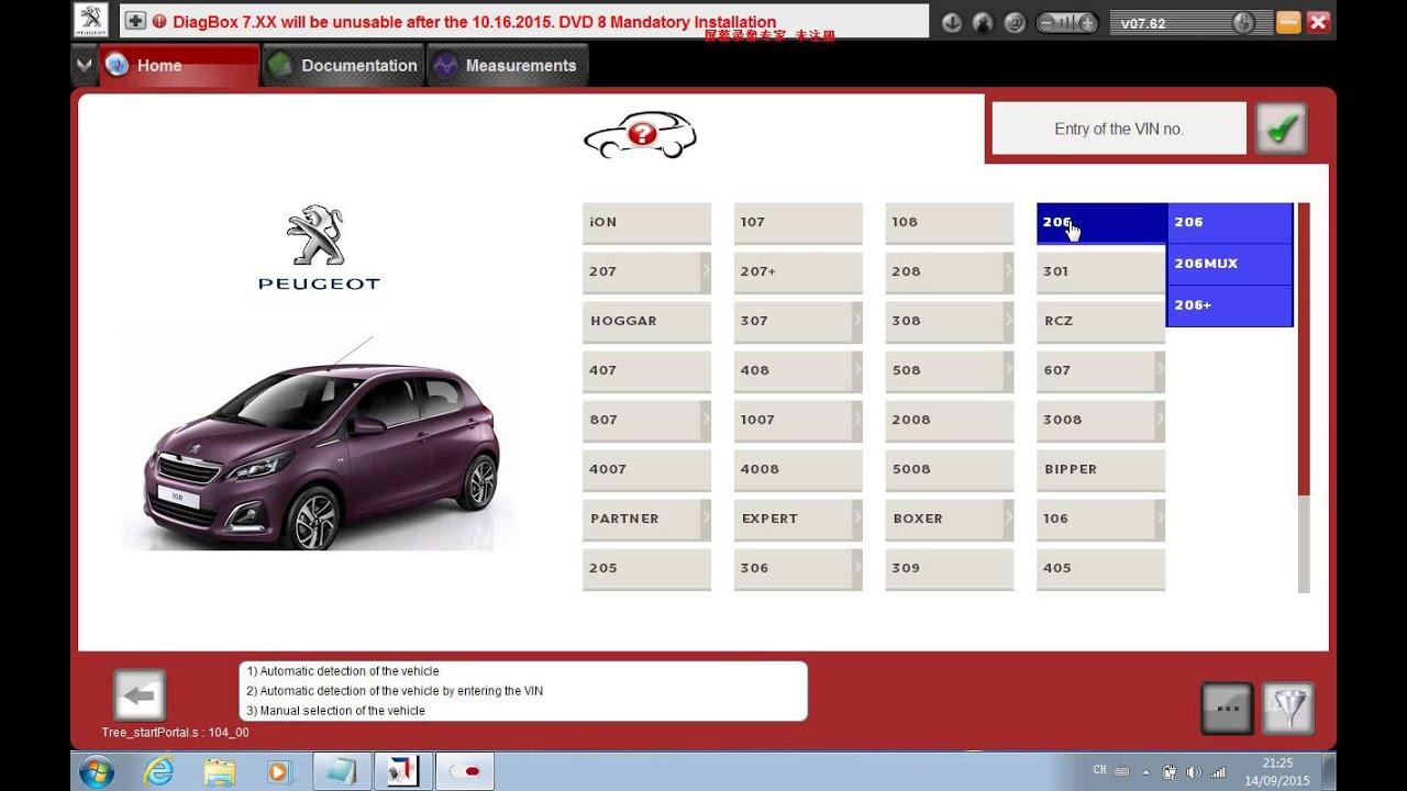 Xs Evolution Lexia 3 Psa Diagnostic Tool Test On Peugeot