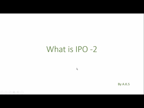 What is an IPO ? How a Company gets Listed ? - 2
