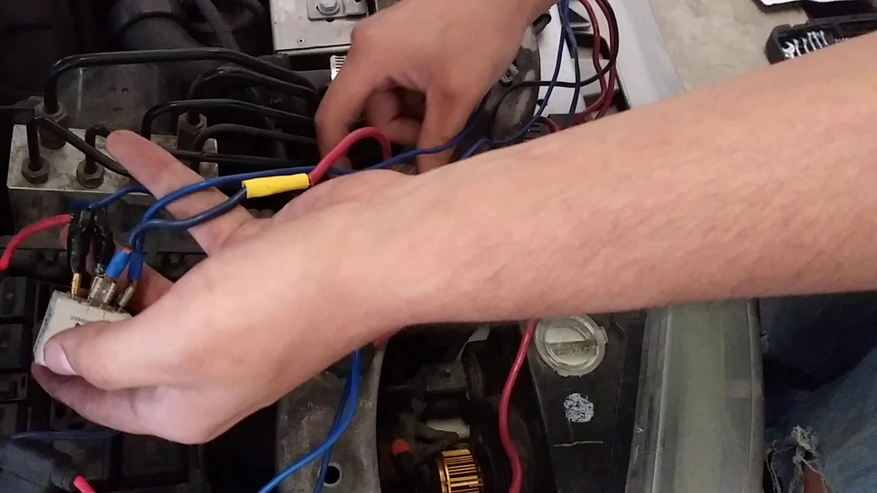 Lincoln ls electric fan wiring. - YouTubeYouTube