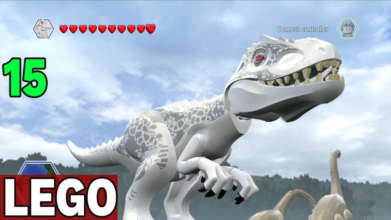 INDOMINUS WKRACZA DO AKCJI  –  LEGO JURASSIC WORLD