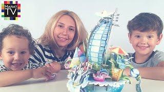 Dubai 3D Hotel Toy Handmade Строим отель Парус Дубаи своими руками(Спасибо что смотрите мои видео :) ссылка на это видео: https://youtu.be/QOPDBfK3eyY Смотрите также другие интересные..., 2016-07-30T12:54:59.000Z)