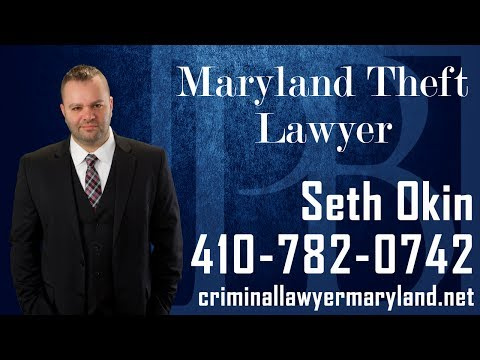 Maryland attorney Seth Okin talks about theft charges.