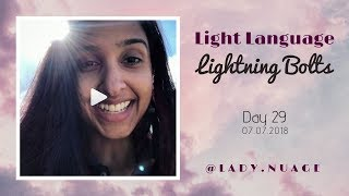 Light Language - Lady Nuage - Lightning Bolt #29
