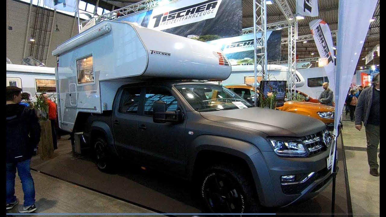volkswagen vw amarok tischer box 240 camper walkaround interior youtube