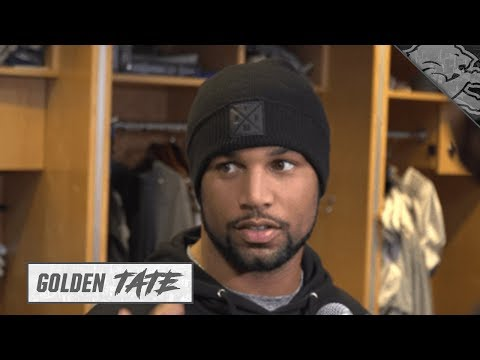 Golden Tate on combating the heat in Miami