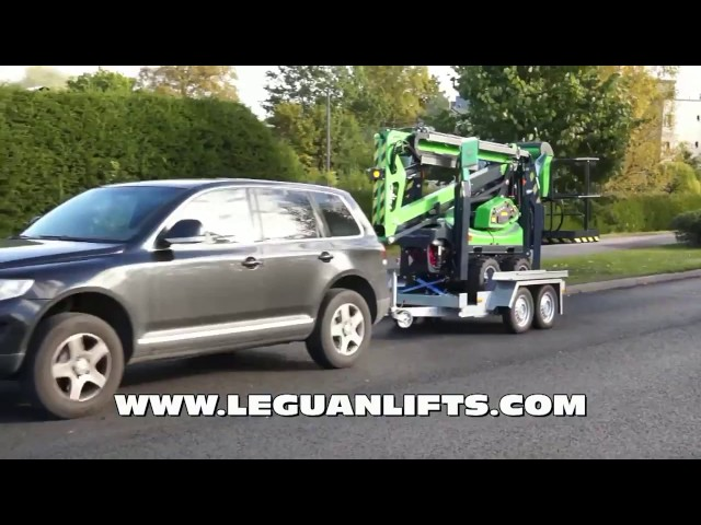 2015 09 15 Leguan 135 4WD on TE HO 2014 trailer