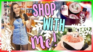 Shop with Me for the Holidays - The Body Shop!