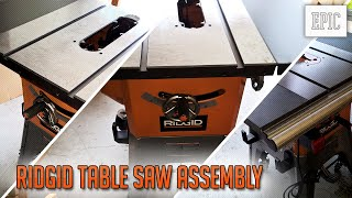 My Next Project: Ridgid Table Saw Assembly