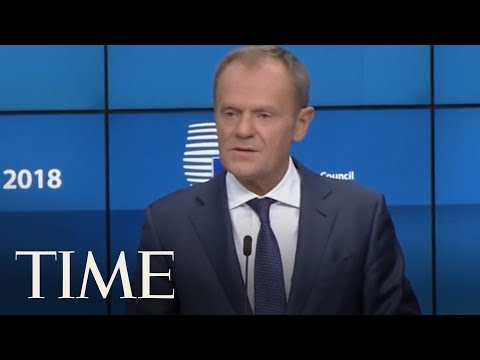 European Council President Says There Is Not Enough Progress On Brexit | TIME