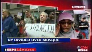 Protesters at Ground Zero mosque