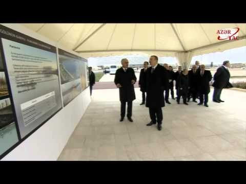 President Ilham Aliyev reviewed the environmental project around Lake Boyukshor and adjacent areas