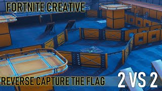 Reverse Capture the Flag 2vs2 Fortnite Creative Mode (Code: 3652-0833-6617)