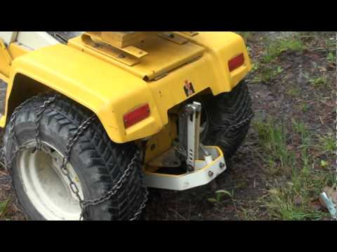 Cub Cadet 108 Start Up And Hitch Take Off