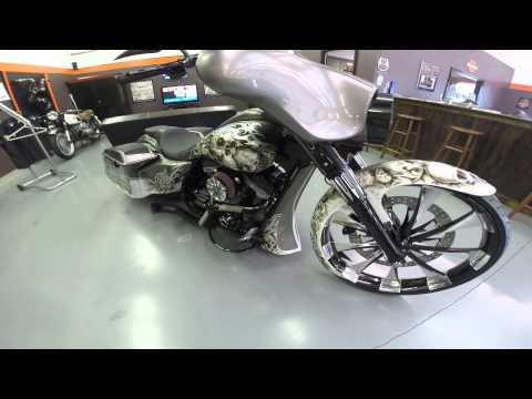 HARLEY DAVIDSON CUSTOM ELECTRA GLIDE built by The Bike Exchange - FOR SALE