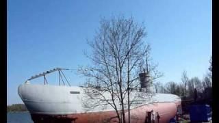 Submarine Vesikko at Suomenlinna/Helsinki