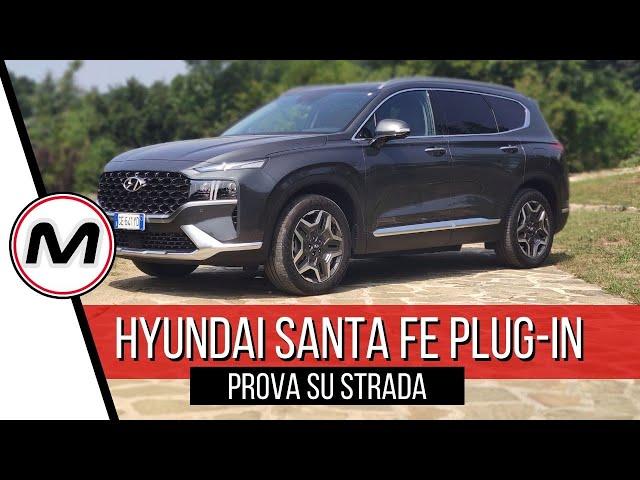 HYUNDAI SANTA FE PLUG-IN | Prova del SUV 4x4 ibrido da 265 CV e 60 km in elettrico