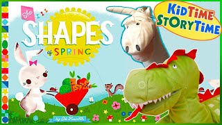 Kids Books Read Aloud - The Shapes of Spring