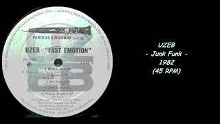 UZEB - Junk Funk - 1982 (45 RPM)